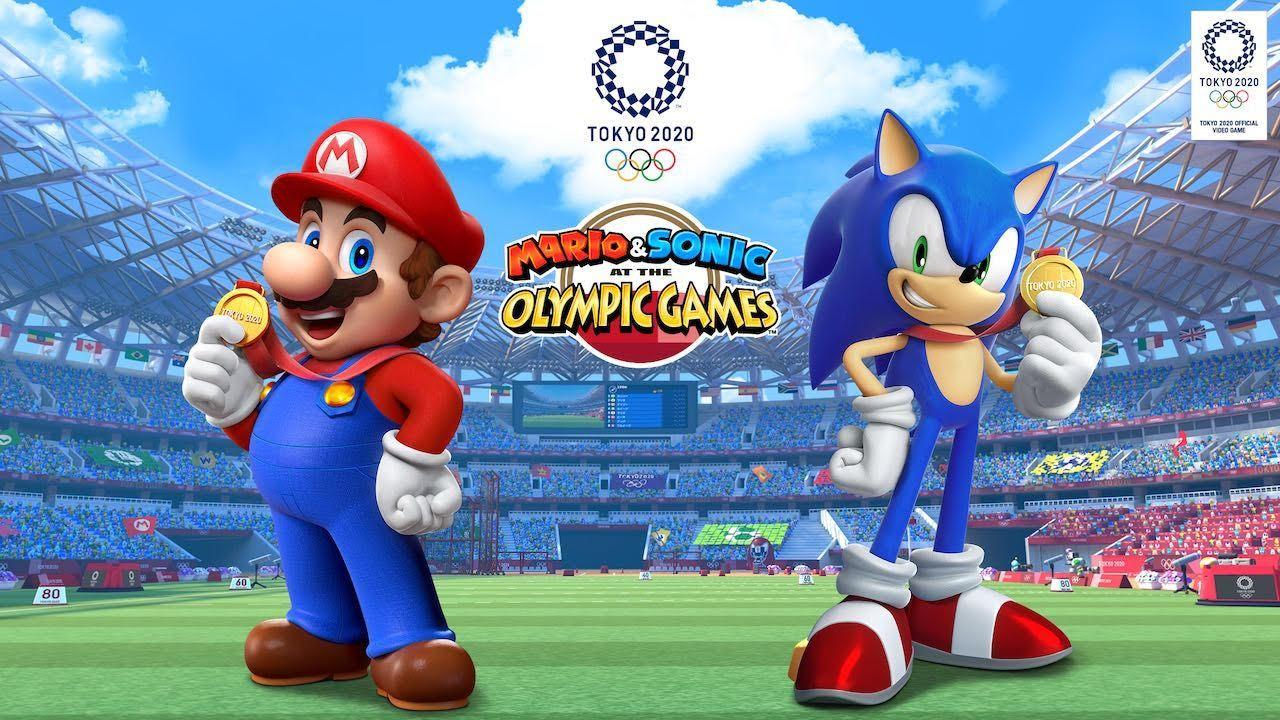Mario Sonic Olympic Games Tokyo 2020