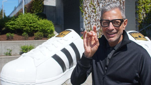 THE WORLD ACCORDING TO JEFF GOLDBLUM: EPISODE ONE- SNEAKERS