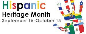 Lets celebrate Hispanic Heritage Month