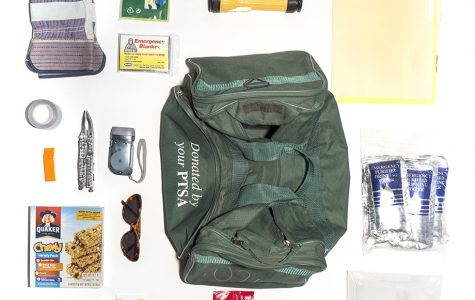 One photo in Allison Stewart's Bug Out Bag: The Commodification of American Fear collection.